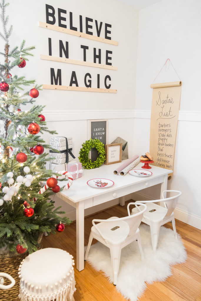 Santa's Workshop themed Children's Room