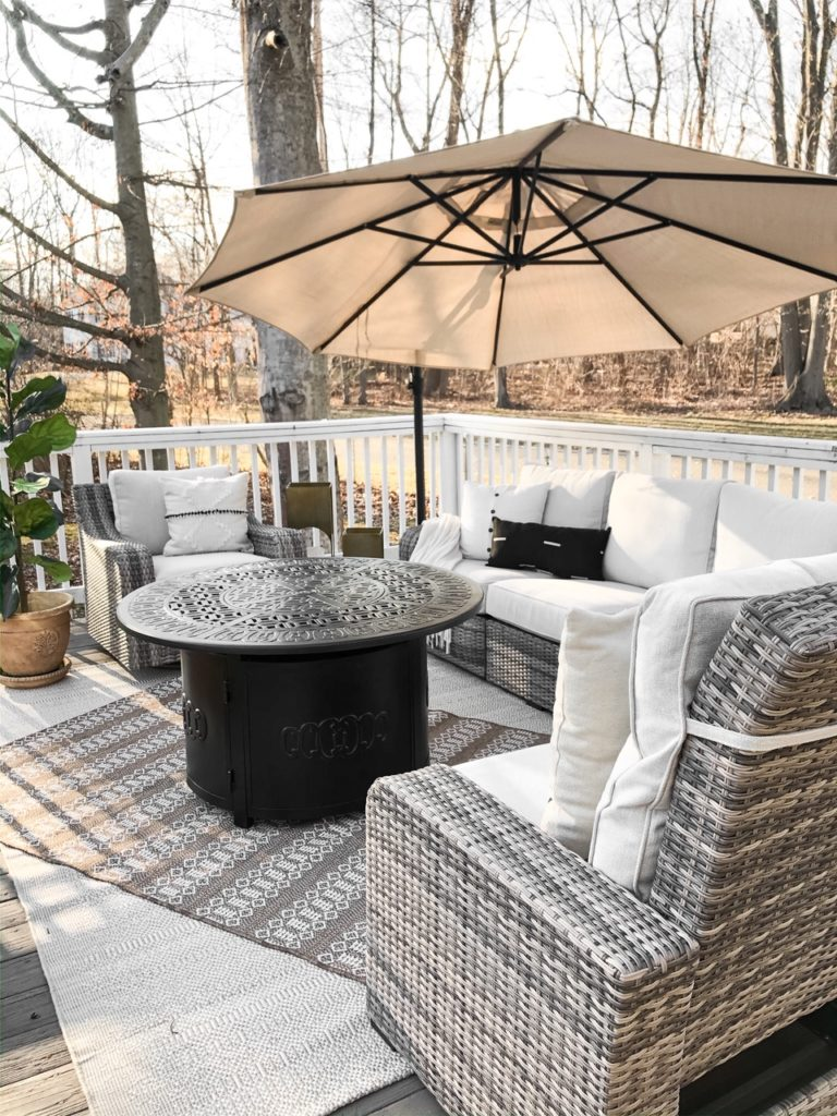 Spring 2020 Patio Deck Refresh With Raymour Flanigan Living With Amanda