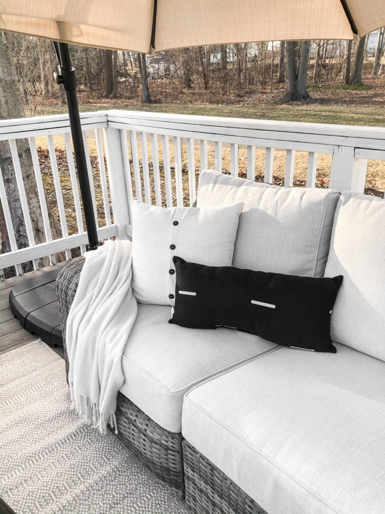 Picture of: Spring 2020 Patio Deck Refresh With Raymour Flanigan Living With Amanda
